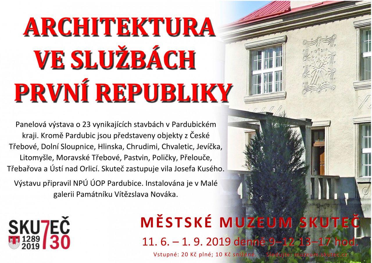 Architektura ve službách první republiky 1